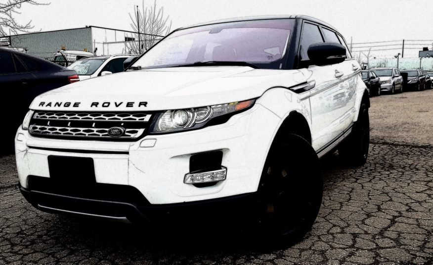 Land Rover Range Rover Evoque Prestige Premium 2013