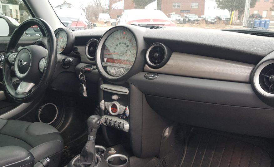 2010 MINI Cooper Hardtop S
