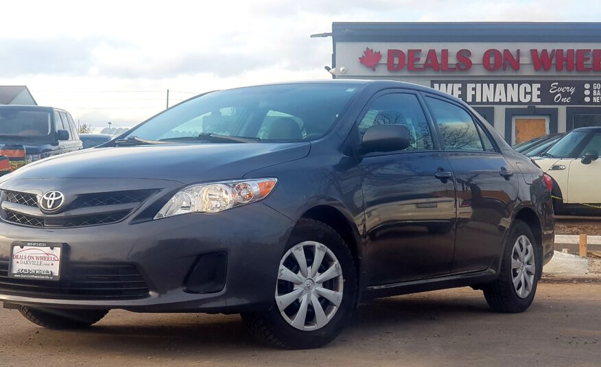 2013 Toyota Corolla CE AS IS