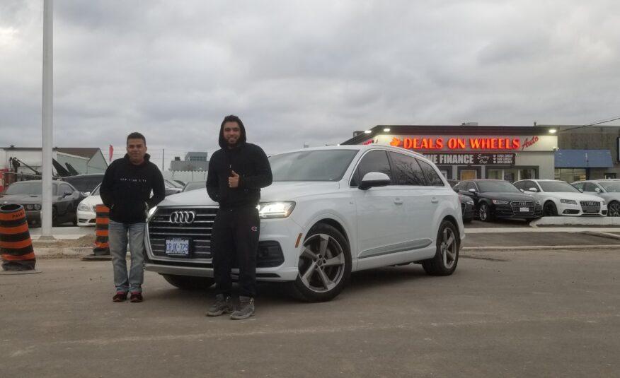 2018 Audi Q7 s-Line Premium Plus Quattro TFSI