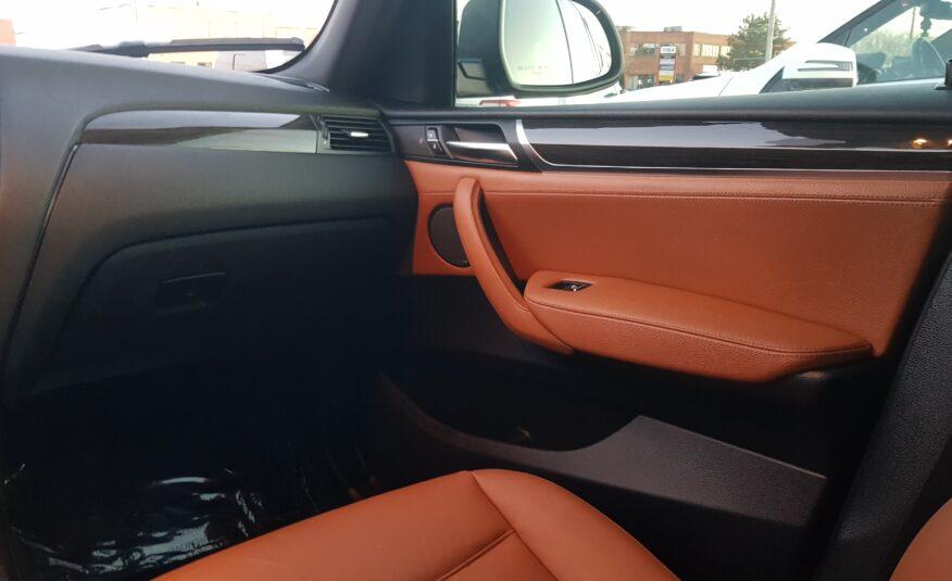 2015 BMW X3 35i