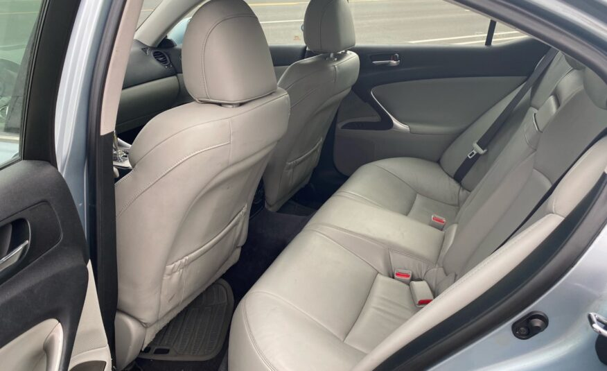 2008 Lexus IS IS 250 AWD 6-Speed Sequential